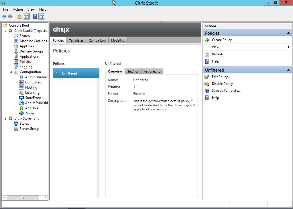 Citrix Xendesktop 7 17 part 2: Configuring storefront for